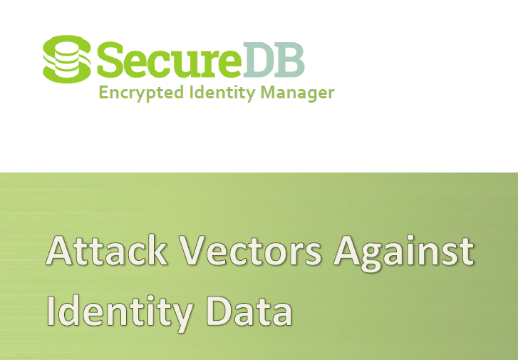 Attack Vectors Against User Identity Data - SecureDB Whitepaper